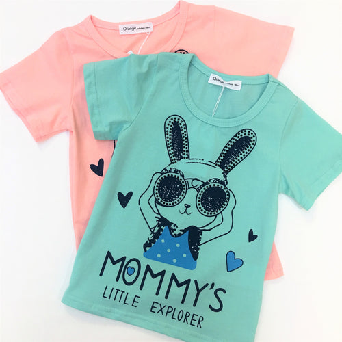 Bunny Explorer T-Shirt - top - Mozayn fashion boys and girls