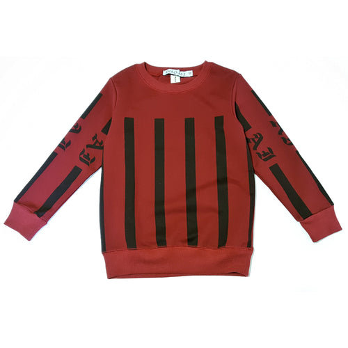 Printed Sweatshirt - Sweater - Mozayn fashion boys and girls