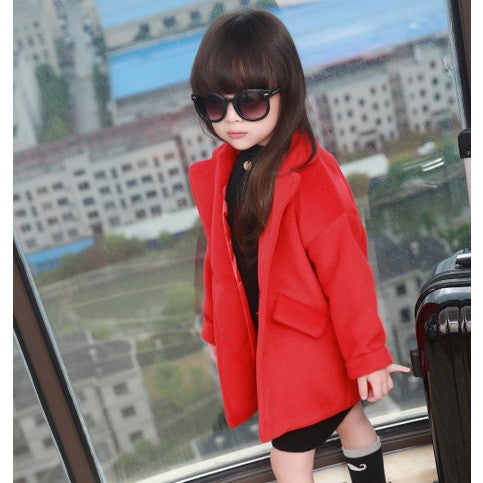 Drop-Shoulder Coat - Coats - Mozayn fashion boys and girls