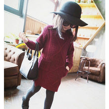 Knitted Dress - Dress - Mozayn fashion boys and girls