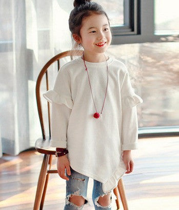 Sweater Ruffle Sleeves - Sweater - Mozayn fashion boys and girls