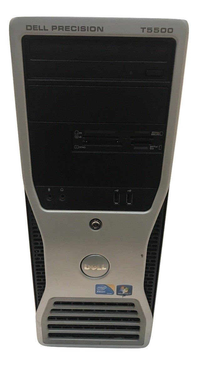 Dell Precision T5500 - Xeon - X5500 2.67GHz - 12 GB RAM - 1 TB HDD - Win 7 Pro
