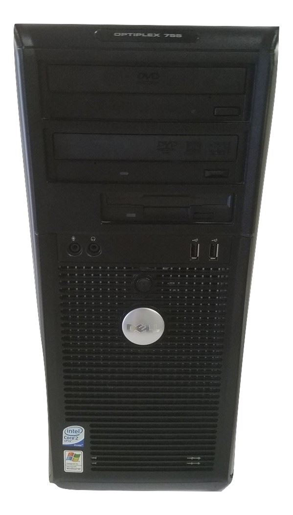 Dell Optiplex 755 Tower - Core 2 Duo - 2.66GHz - 4 GB RAM - 80 GB HDD - Win Vista