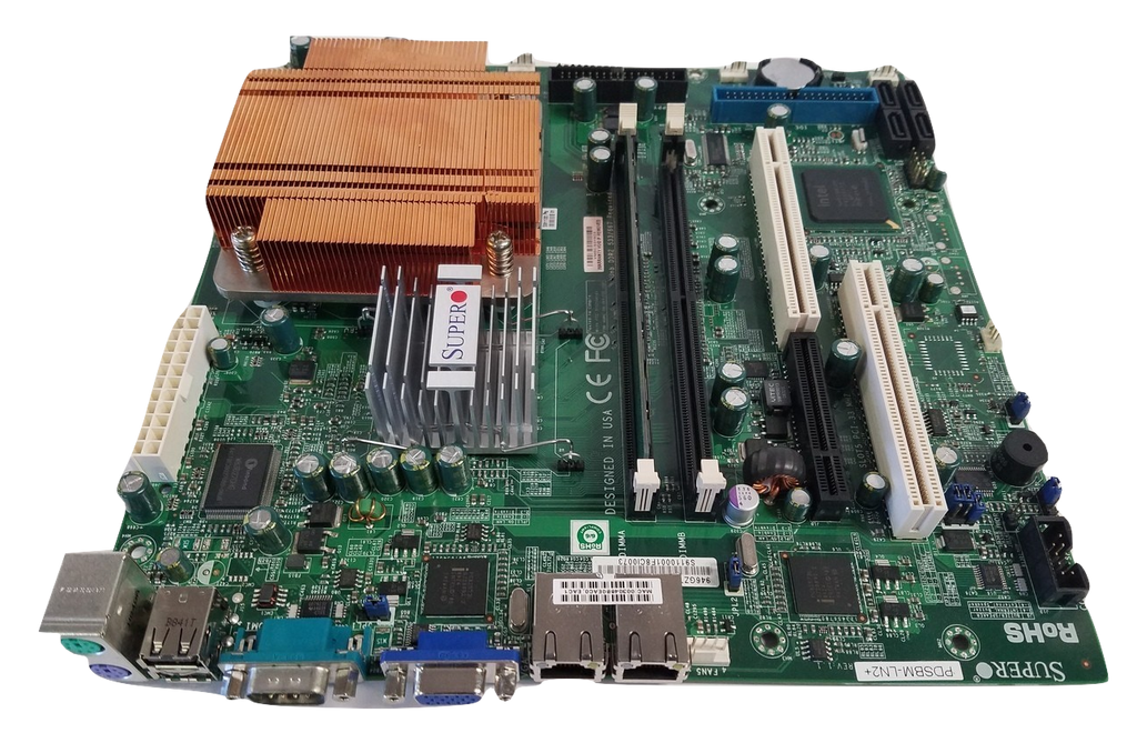 SuperMicro pdsbbm-ln2+ w/ Pentium D 3.0Ghz CPU and 2 GB Ram