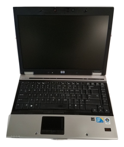 HP Elitebook 6930p Core 2 Duo 2.53GHz 3GB RAM 80 GB HDD Vista Webcam