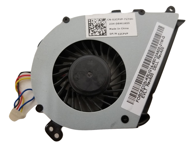 Dell Latitude E5420 Laptop CPU Cooling Fan 02CPVP 2CPVP