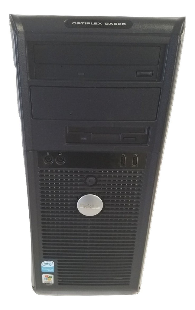 Dell Optiplex GX520 Intel Pentium 4 2.8GHz 40GB HDD 1GB Win Xp