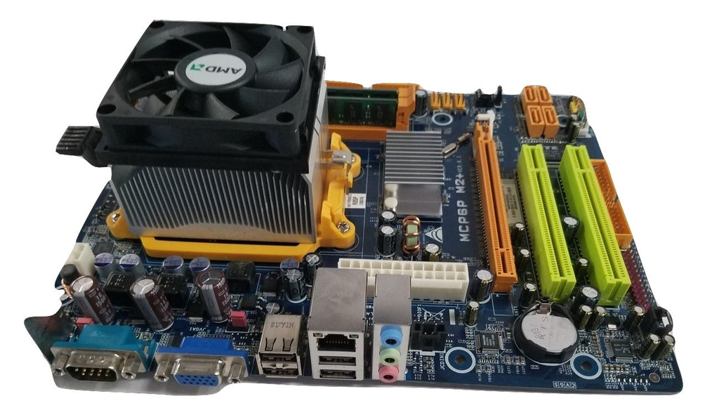 Biostar MCP6P M2+ Ver. 6.3 AMD Motherboard with 4GB Ram