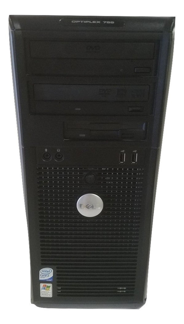DELL OPTIPLEX 755 CORE 2 DUO TOWER 1.8GHZ 160GB HD 3GB Vista