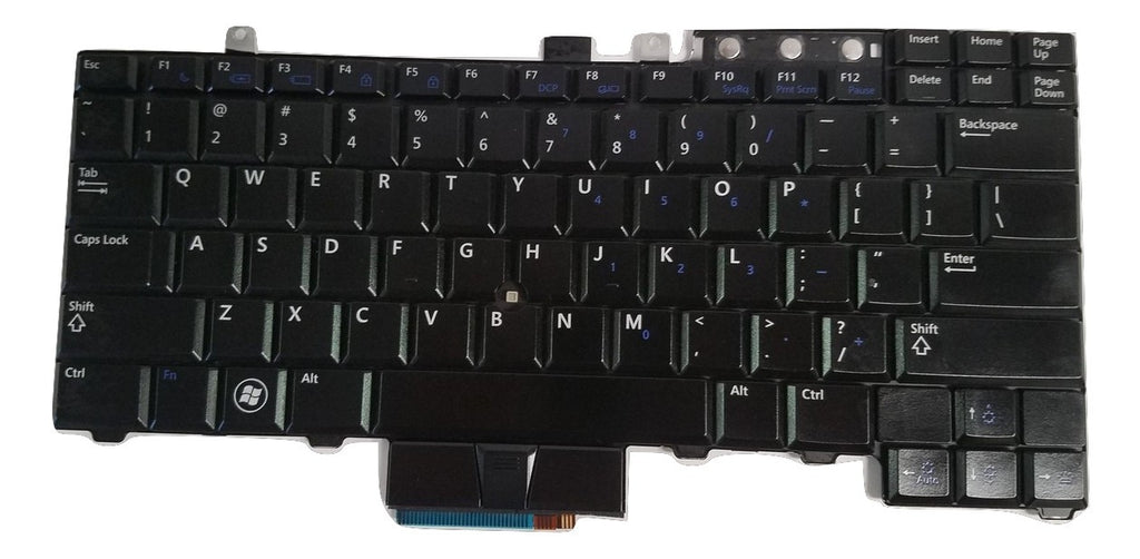 OEM Dell Latitude E6410 / E6510 Backlit Keyboard WX4JF