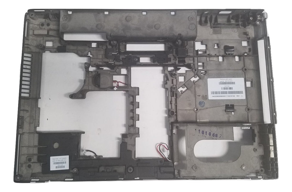 GENUINE HP ELITEBOOK 8570P BOTTOM BASE CASE COVER WITH SPEAKERS 641182-001
