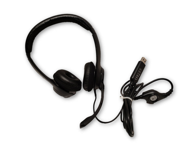 Logitech DZL-A-00052 Corded USB Stereo Headset
