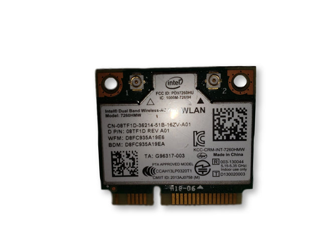 Dell Latitude E5440 Genuine Laptop WiFi Wireless Card 8TF1D
