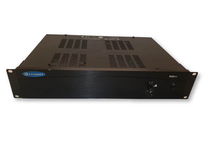 Crown 180A Single-Zone Commercial Audio Amp 80W Power Amplifier