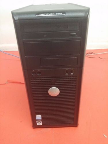 Dell Optiplex Gx330 Tower Pentium Dual E2180 2.0Ghz  Windows Vista  3GB 80GB