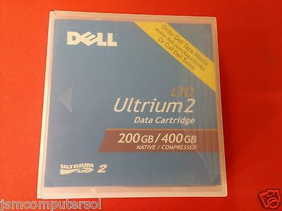 New Dell N0439 LTO Ultrium 2 200/400GB Data Tape Cartridge