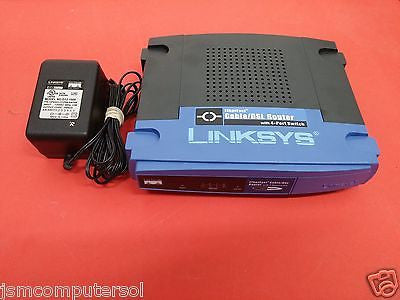 Linksys EtherFast 100 Mbps 4-Port 10/100 Wired Cable / DSL Router (BEFSR41)