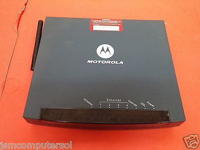 Motorola Netopia MODEL 3347-02-1022 4-Port DSL Wireless Router