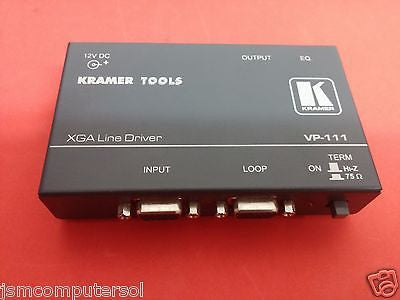 Kramer Tools XGA Line Driver VP-111 No Power Supply