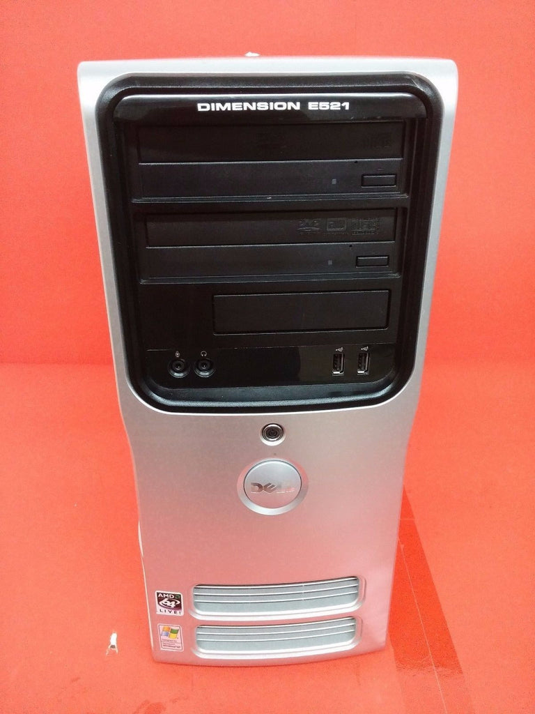Dell Dimension E521 AMD 64 X2 Dual Core Processor 4400 2.3Ghz 3.5GB RAM 80GB HD