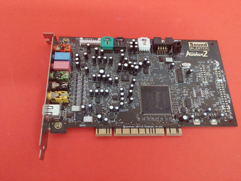 Creative Sound Blaster Audigy 2 7.1 THX Sound PCI Card SB0350 P1554
