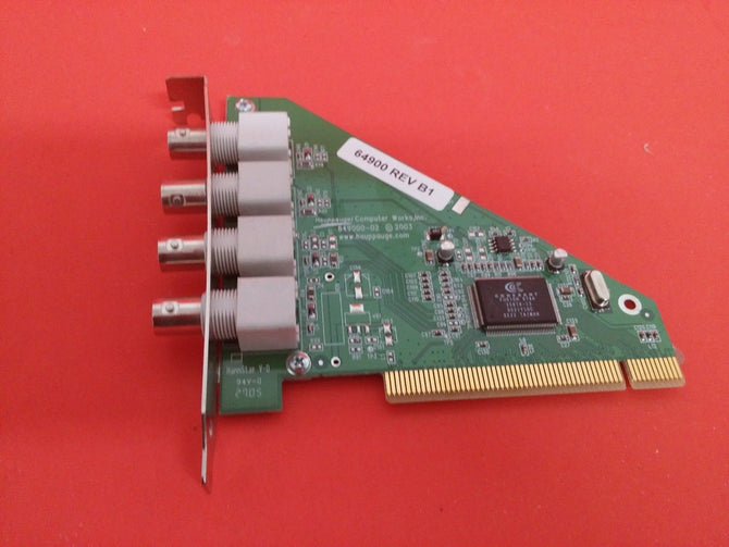 Hauppauge 649000-02 Capture card 4 BNC inputs PCI interface