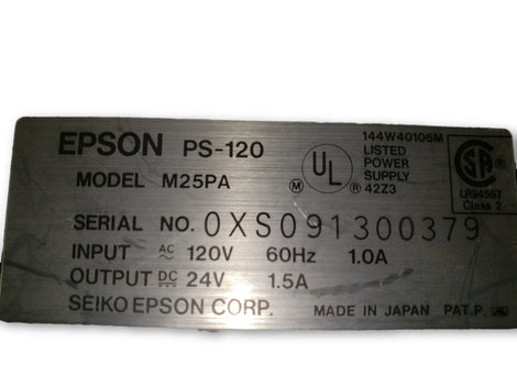 Epson PS-120 Power Supply Model M25PA