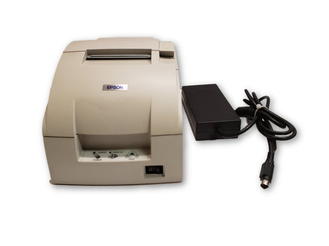 Epson TM-U220PB model M188B Point of Sale Thermal Printer With Power Supply
