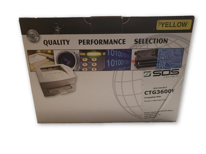 Generic HP 3600 - Yellow CTG3600Y