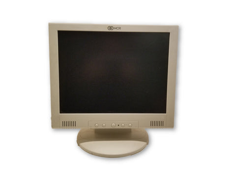 "NCR 5942-7000-9090 15"" LCD Flat Screen Monitor"