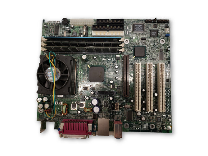 Intel D815EFV Socket 370 mATX Motherboard Celeron 667 CPU 384MB PC133