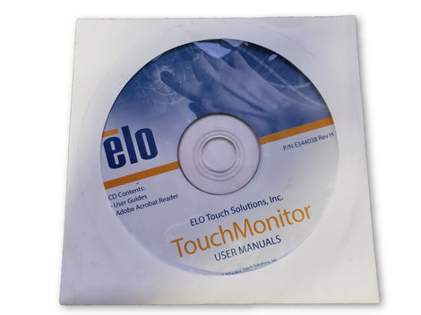elo 1940L Touch Monitor User Manuals Driver Disc - PC Computer Software Program CD-Rom