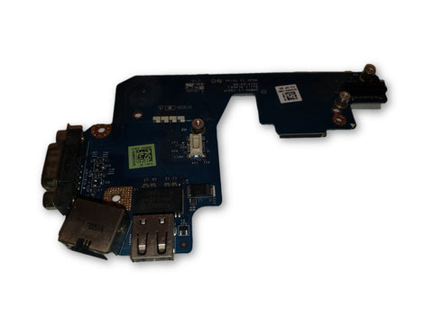 Dell Latitude E5430 VGA USB Ethernet Board LS-7901P 4M3HJ
