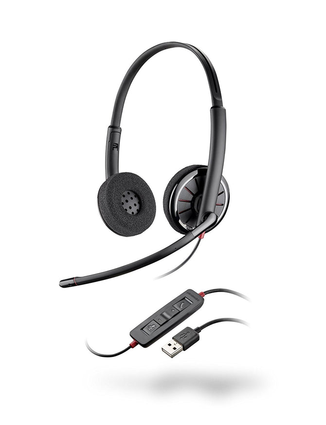 New Plantronics Blackwire 310/320 DA Stereo Headset