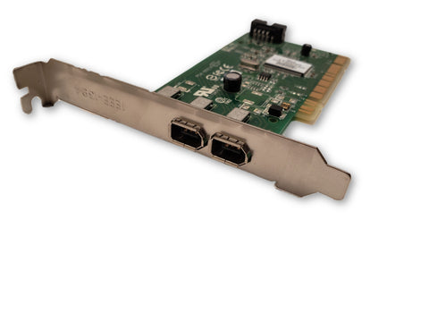 Dell 2 Port Adaptec AFW-2100 PCI IEEE-1394 FireWire Card Y9457