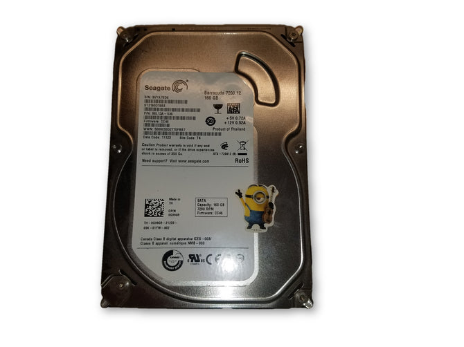 SEAGTE BARRACUDA 160GB HDD ST3160318AS HARD DRIVE 7200