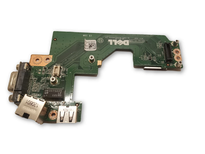 Genuine OEM Dell Daughterboard IO Board Card Reader USB VGA RJ-45 Ethernet 32PGC