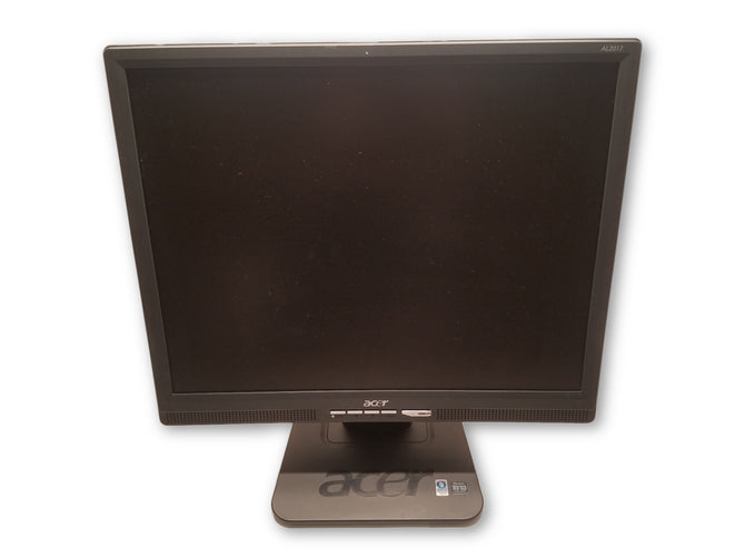 "Acer AL2017 20"" Monitor Black w/ VGA & Power Cord"