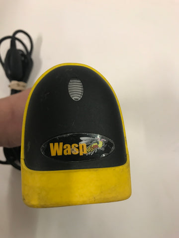 Wasp WLR8905 Point of Sale POS Wired USB Barcode Scanner - Used