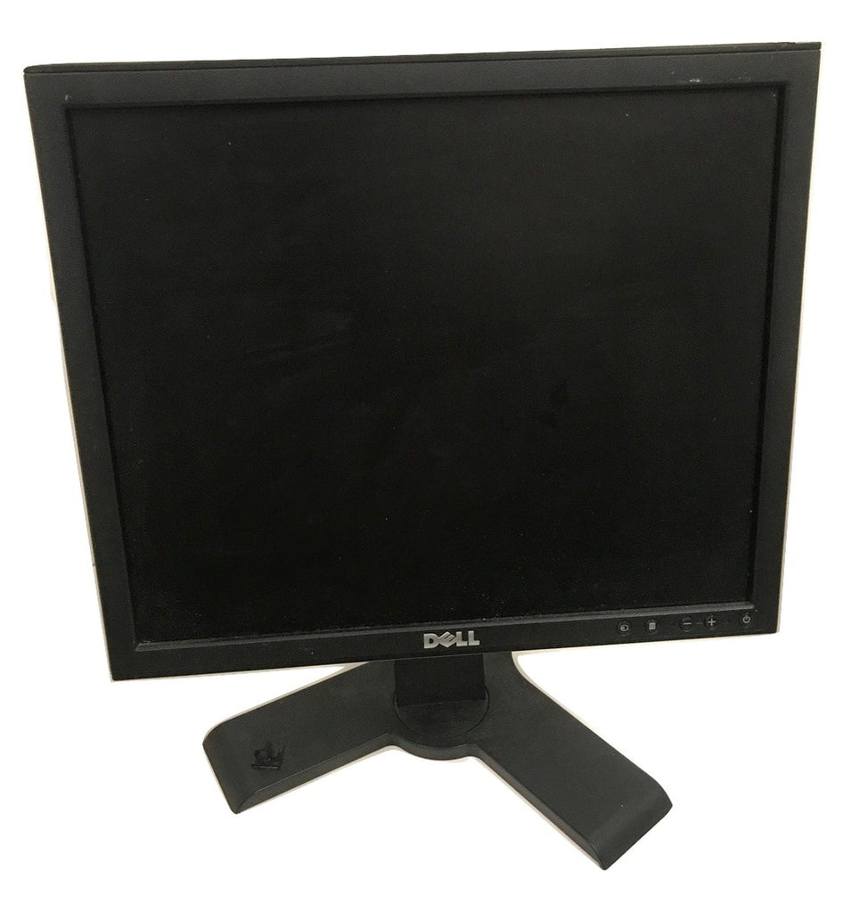 Dell 1708FPt 17'' LCD Flat screen Monitor With Stand- Comes with Power Cord and VGA Cable