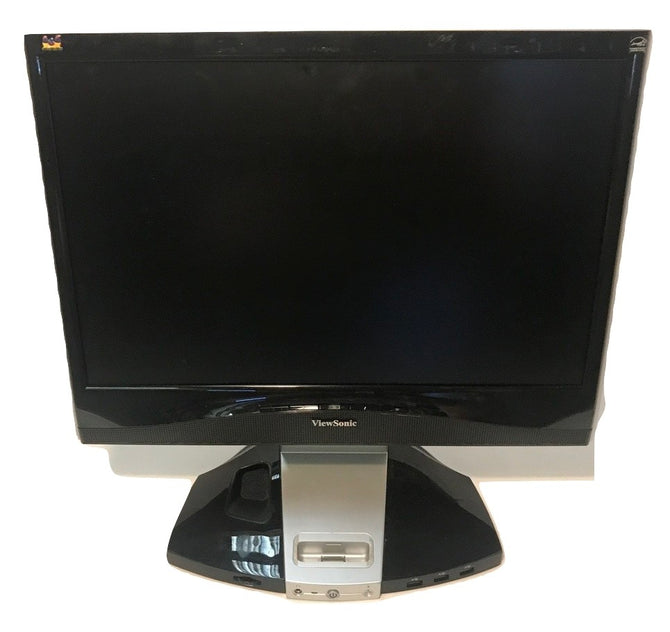 ViewSonic VX1945wm 19'' LCD Flat Panel Monitor/Built in Speakers- Comes with Power and VGA Cable