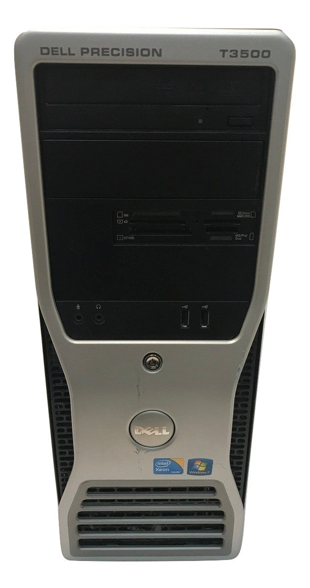 Dell Precision T3500 - Xeon- 2.8GHz - 3GB RAM - 250GB HDD- Windows 7 Pro