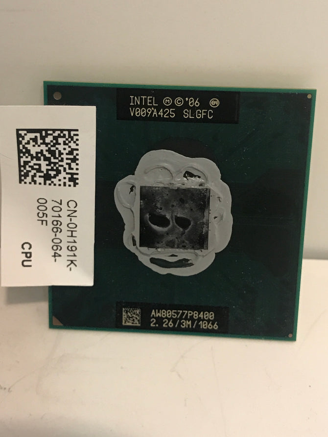 SLGFC Intel 2.26 GHz / 3M / 1066 Dual-Core Processor AW80577P8400 GENUINE