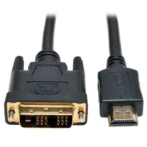 Tripp Lite HDMI to DVI Cable, Digital Monitor Adapter Cable (HDMI to DVI-D M/M)
