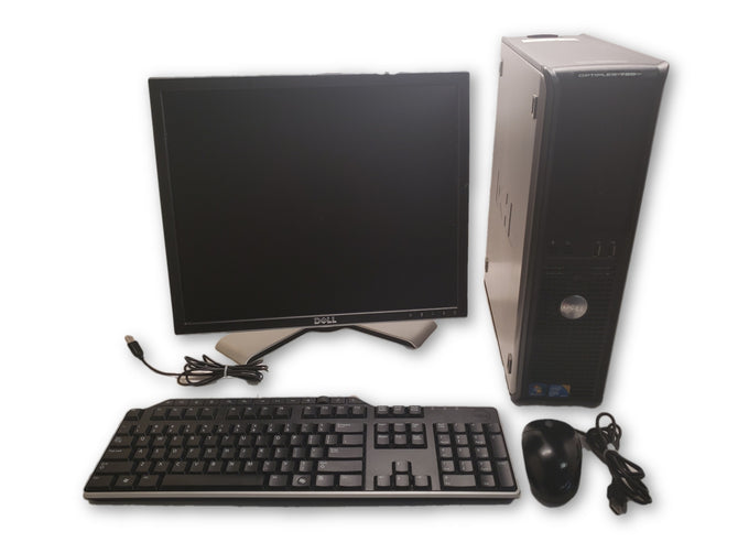 Dell Optiplex 780-Core 2 Duo-2.93GHz-4GB RAM-160GB HDD-Windows10