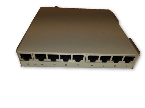 Addtron 8 port hub with AUI and BNC VCCI-1