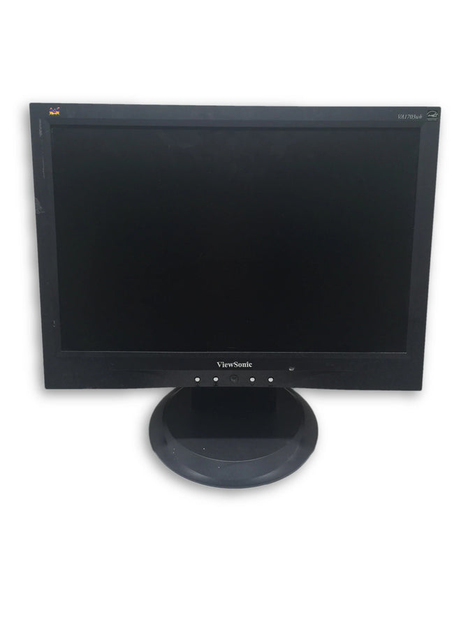 ViewSonic VA1703wb 17'' Flat Screen LCD Monitor - Comes with VGA & Power Cable