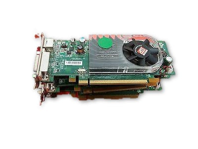 3x  Dell ATI Radeon HD 3450 256MB PCIe Video Card Low Profile