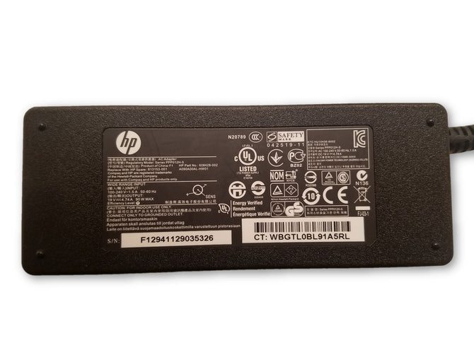 GENUINE HP PPP012H-S 90W 19.5V 4.74A 613153-001 608428-002 AC ADAPTER