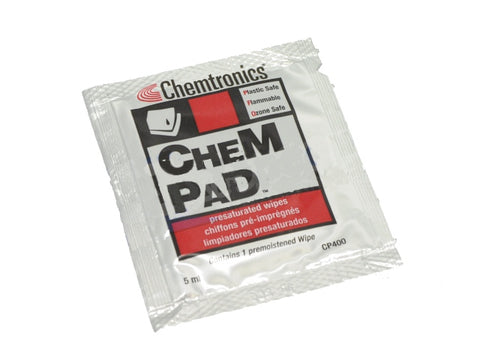10x New Chemtronics Chem Pad Presaturated Wipes